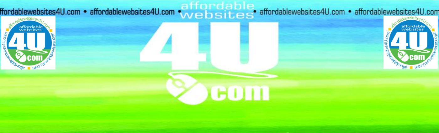 Affordable Websites 4U Banner